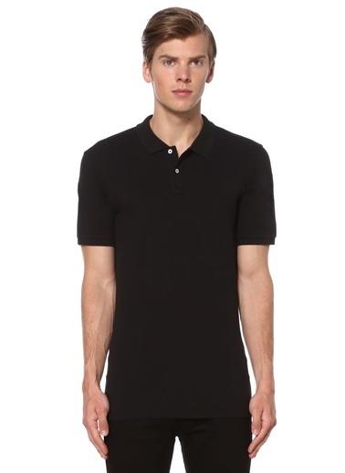 Sedwick Polo Yaka Tişört Siyah